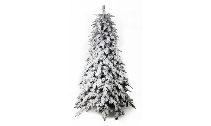 Alberi Di Natale Prezzi.Albero Di Natale Artificiale Innevato Disponibile In 4 Misure Da 39 89 Fino A 45 Di Sconto