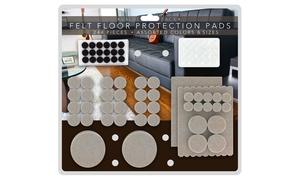 Self-Stick Felt Furniture Pad Protectors and Vinyl Bumpers