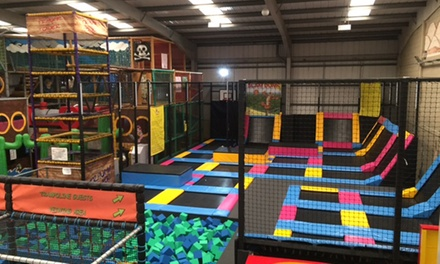 Soft Play and Trampoline Access
