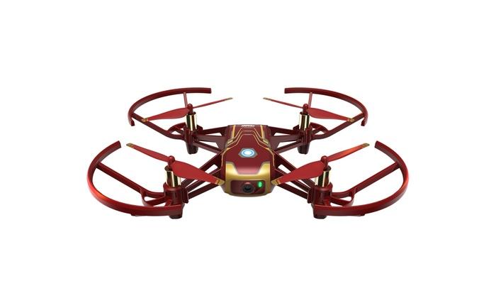 TitoloDJI Tello Drone, Iron Man edition per principianti
