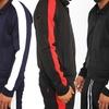 DM Men's Striped Track Jacket
