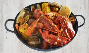 BeClaws: Cajun-Asian Fusion Dinner for Two or Four at BeClaws (Up to 40% Off)