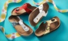 Coco Jumbo Girl's Footbed Sandals: $19.99 for Coco Jumbo Girl's Footbed Sandals ($39.99 List Price). 4 Colors Available. Free Shipping and Returns.