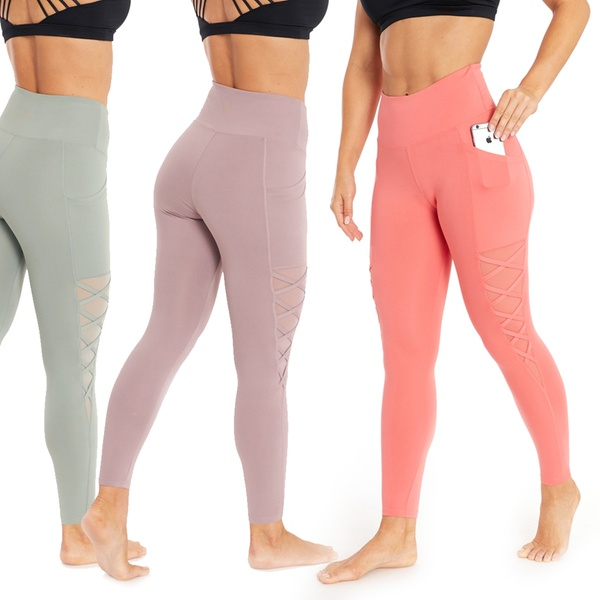 c1470a7744ad2 Up To 60% Off on Marika Criss-Cross Leggings   Groupon Goods