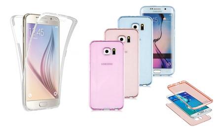 Funda protectora 360º de TPU disponible para Samsung Note 5, S7 Edge, S7, S6 Edge y S6
