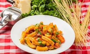 """ספגטים פ""""ת: ספגטים, פ""""ת: ארוחה איטלקית זוגית מלאה מ-109₪ בלבד! כולל מנות כשרות לפסח ובתוקף גם בשבת ובחוה""""מ"""