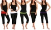 Nouveau Women's Cotton Stretch Yoga Pants. Plus Sizes Available.