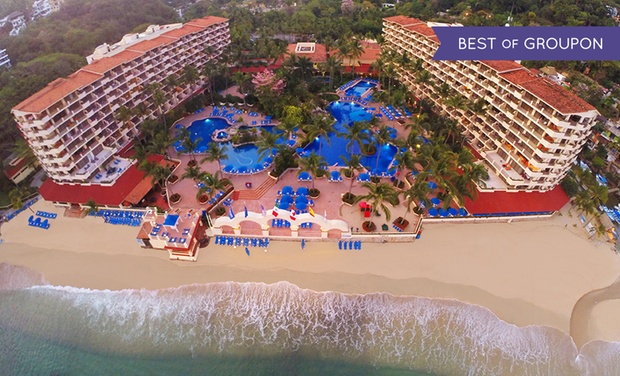 TripAlertz wants you to check out ✈ 3-Night All-Inclusive Barceló Puerto Vallarta Winter Stay with Airfare. Price per Person Based on Double Occupancy.  ✈ All-Inclusive Mexico Vacation with Airfare from Travel by Jen  - All-Inclusive Mexico Vacation