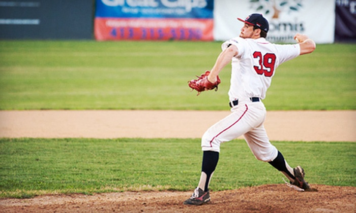Holyoke Blue Sox - Holyoke: Holyoke Blue Sox Game Package for Four or Season-Ticket Package for One at Mackenzie Stadium (Up to 51% Off)