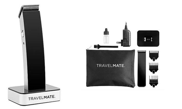 travelmate matte finish hair clipper kit livingsocial. Black Bedroom Furniture Sets. Home Design Ideas