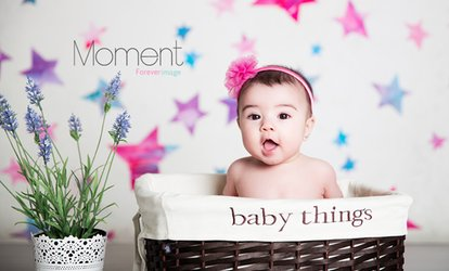 C$34 for In Studio Baby and Children Photo Shoot with Three Digitally Retouched Images (C$160 Value)