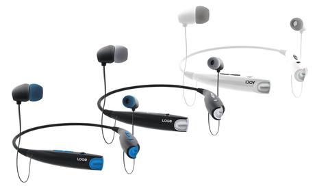 iJoy Logo Wireless Bluetooth Neckband Headphones