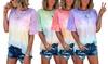T-shirt femme oversize imprimé tie dye