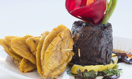Prie-Fixe Latin American Meal for Two at Salsa Con Fuego (Up to 57% Off). Two Options Available.
