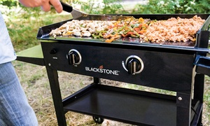 "Blackstone 28"" Outdoor Griddle Cooking Station with Base"