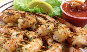 Shrimp Shack Seafood Kitchen: Southern Food for One or Two at Shrimp Shack Seafood Kitchen (47% Off)