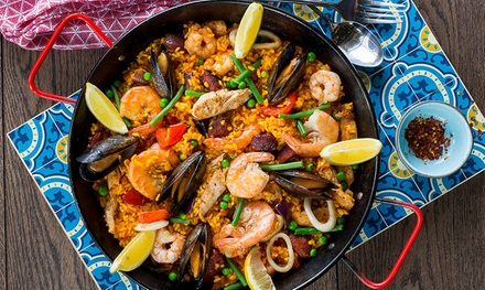 £25 Toward Tapas and Drinks at La Tasca, Two Locations (40% Off)