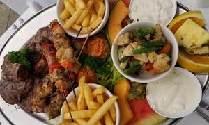 Galaxy Seafood & Mediterranean Restaurant: Mediterranean Platter for Two ($59) or Four ($115) at Galaxy Seafood & Mediterranean Restaurant (Up to $338 Value)