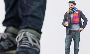 3D Scaper: Lebensechte 3D-Miniaturfigur in einer Größe von 15 cm von 3D Scaper ab 159 €
