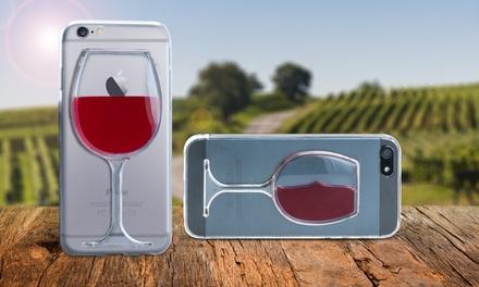 Funda efecto copa de vino para iPhone 5, 6 o 6+