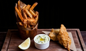 140 Pub N Club: Pub Food at 140 Pub and Club (Up to 40% Off). Two Options Available.