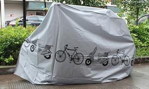 Housse protectrice de vélo-moto