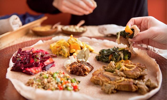 Axum Restaurant - U Street - Cardozo: Ethiopian Cuisine at Axum Restaurant (Up to 52% Off). Three Options Available.