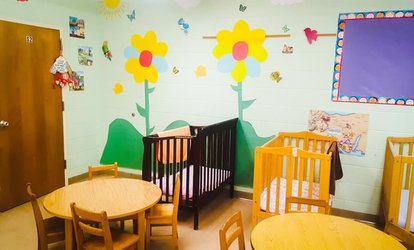One, Two Weeks, or One Month of <strong>Child Care</strong> at Evangel Christian <strong>Child Care</strong> Center (Up to 70% Off)