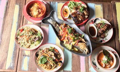 Two-Course Thai Lunch for One, Two or Four at Spice Thai Restaurant