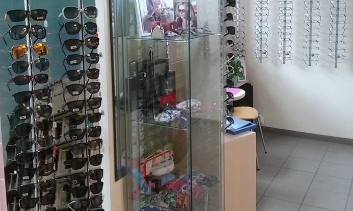Korekcyjne okulary przeciwsłoneczne Optyk Optima | Groupon