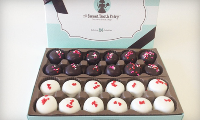 The Sweet Tooth Fairy - North Scottsdale: $12 for 24 Valentine's Day Cakebites at The Sweet Tooth Fairy ($24.95 Value)
