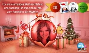 My M&M's: Wertgutschein über 15 € anrechenbar auf personalisierbare M&M's
