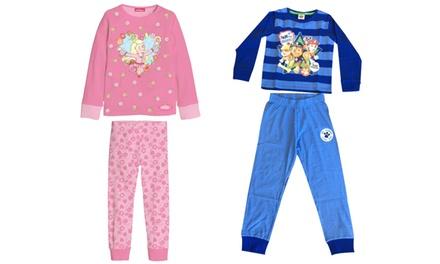 Pijama para niños Patrulla Canina o Princesa Anneli
