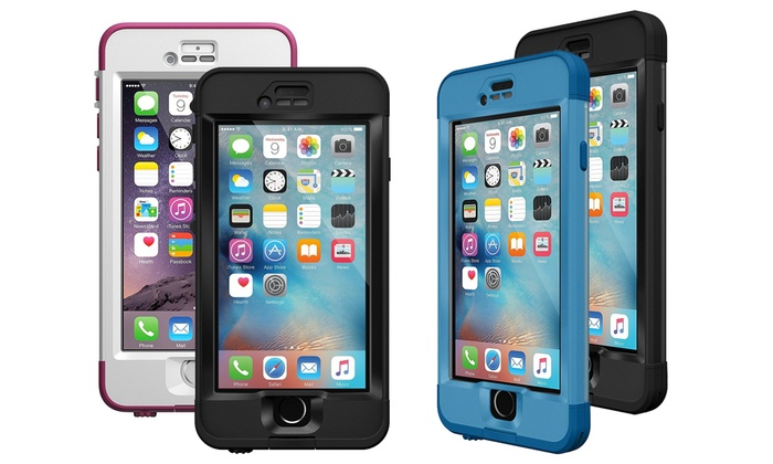 brand new d43c5 2bae4 Lifeproof Waterproof Case for iPhone 6, 6s, 6 Plus, or 6s Plus | Groupon
