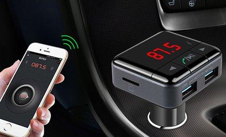 iSunnao Bluetooth FM Transmitter Car Kit