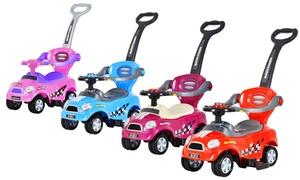 Mini 3-in-1 Kids' Push Car