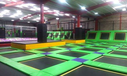 image for One-Hour Jump Session for Up to Three at Jump Ninja (Up to 37% Off)