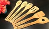 CabanyCo: Sets of Six Custom Engraved Kitchen Utensils (Up to 38% Off)
