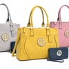MMK Matching Collection Satchel and Wallet