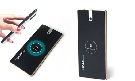 One or Two, Black or White Ultra-Slim QI Power Banks