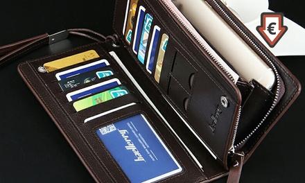 ac0415927fd 1 of 2 elegante leren portemonnees in kleur naar keuze en met  geschenkverpakking in kleur naar