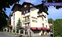 Karpacz: 1-7 nocy dla 2 lub 3 osób z wyżywieniem, opcjonalnie seansem w saunie i więcej w Hotelu Ariston