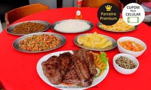 Peixinho Bar e Restaurante: Peixinho Bar e Restaurante - St. Marista: carne de sol + acompanhamentos para até 4 pessoas