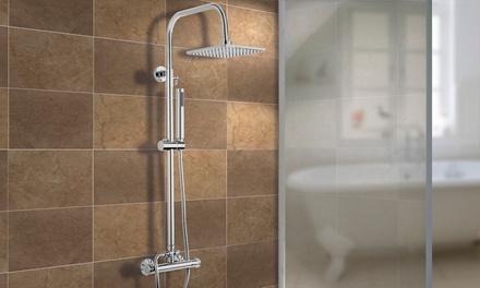 Colonne de douche thermostatique, modèle au choix