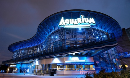 $50 or $100 Landry's eGift Card and Four All-Day Exhibit Tickets to Denver Downtown Aquarium (Up to 25% Off)