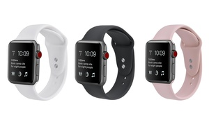 Bracelet silicone pour Apple Watch