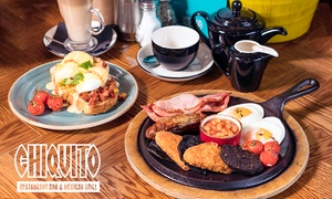 Chiquito: Brunch with Cocktail for Up to Four at Chiquito, 78 Locations (Up to 26% Off)
