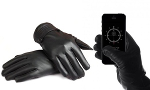 Women's Leather Fleece Touch Gloves at Women's Leather Fleece Touch Gloves, plus 6.0% Cash Back from Ebates.