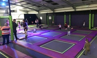 One-Hour Trampoline Session for One, Two or Four at Imagination Street, Birmingham - Redditch (Up to 34% Off)