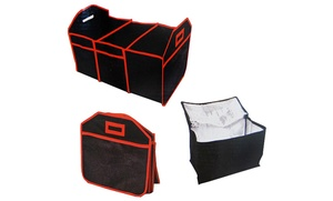 Deluxe Collapsible Trunk Organizer with Cooler
